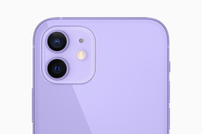 苹果发布紫色iPhone12上热搜 网友表示真好看