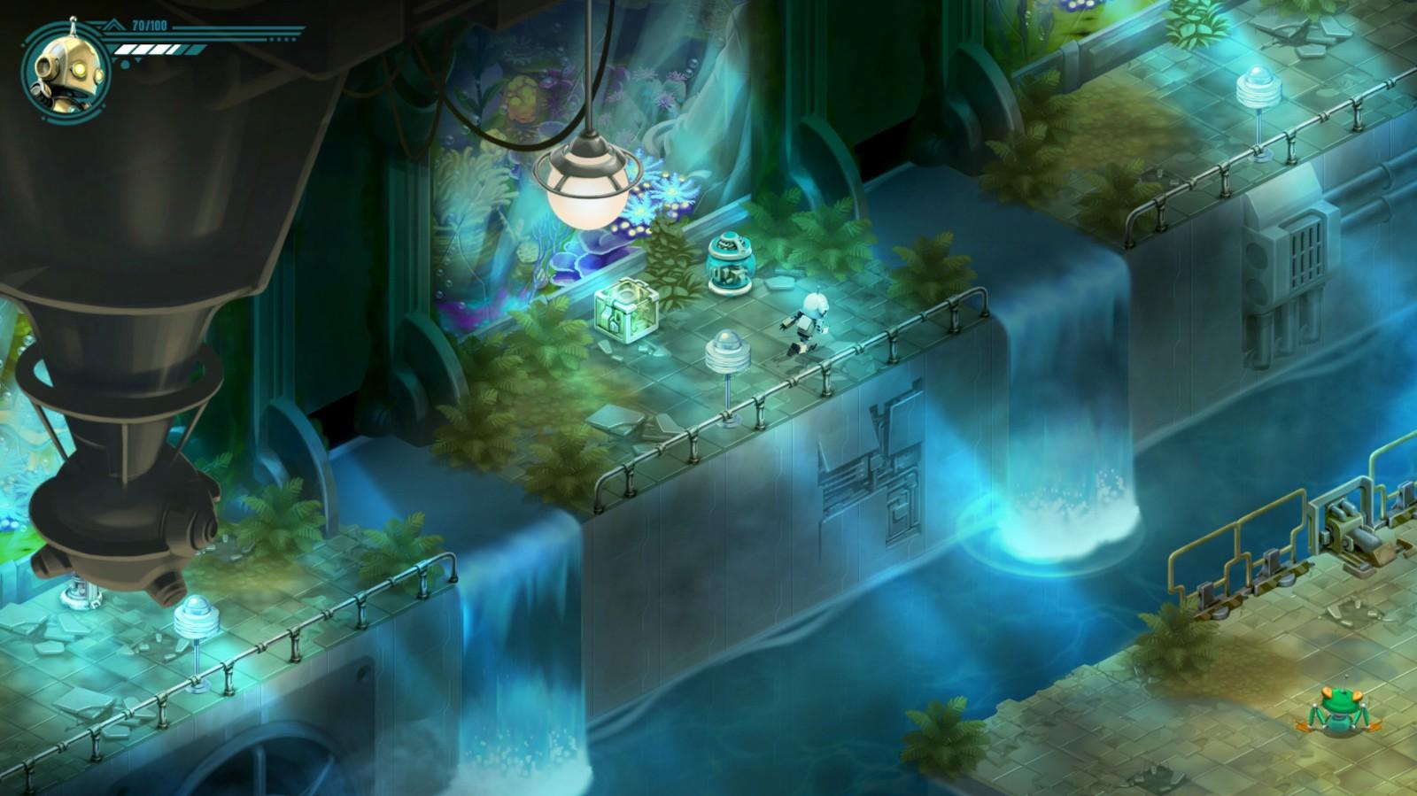 動作解謎遊戲《複古機械城》將於5月12日發售