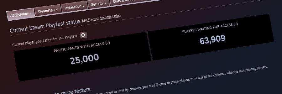Steam游戏测试功能现已完整发布 无需邮件、序列号即可邀请玩家