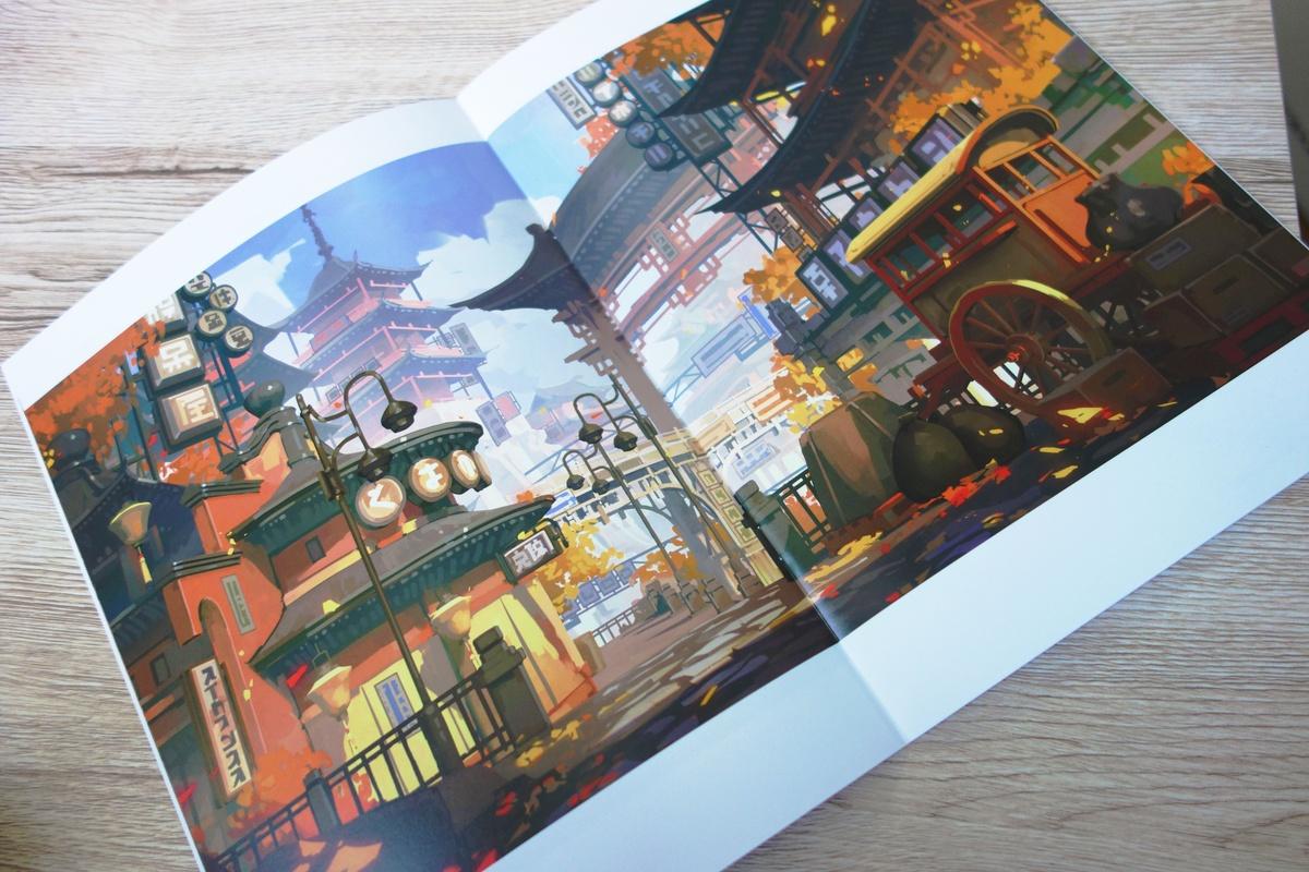 一名日本同人画师,将自己的画集做成了游戏