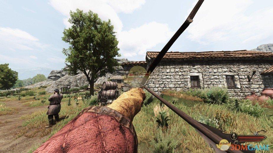 《骑马与砍杀2》更逼真的弓MOD