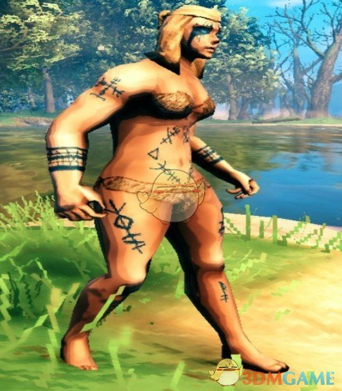 《Valheim:英灵神殿》帅气纹身MOD