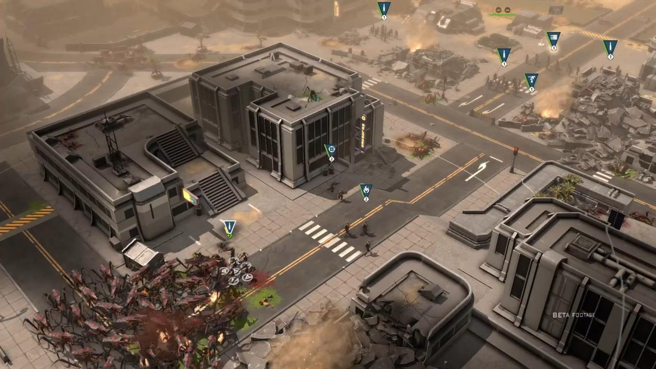 《星河战队:人类指挥部》新演示 人类誓死抵抗虫族