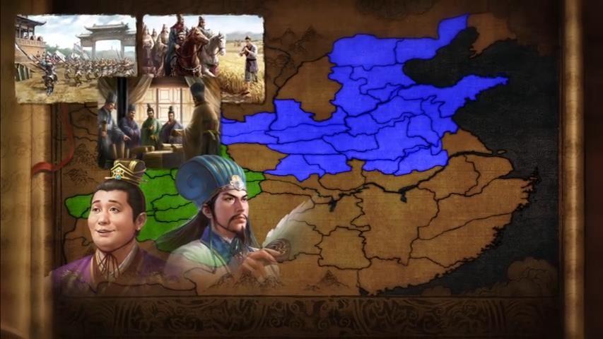 《三国志14:威力加强版》DLC征伐南蛮片头动画