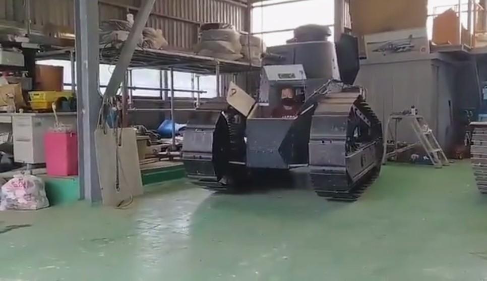 高玩打造实大可动《少女战车》坦克!最新演示惊呆网友