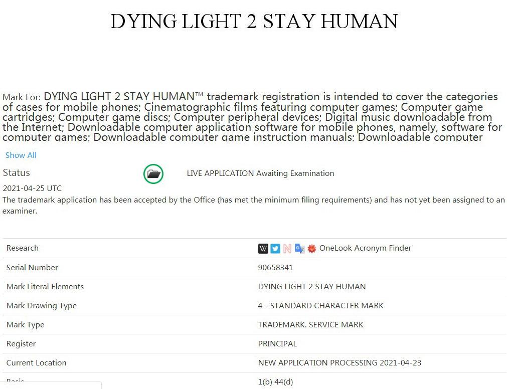 """《消逝的光芒2》注册商标""""坚守人性"""" 是正式名或DLC?"""