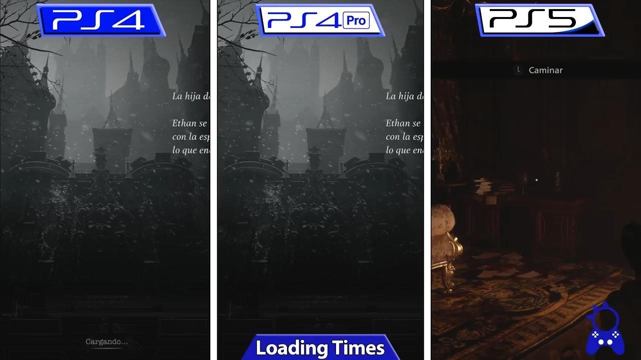 《生化危机8》城堡Demo PS5与PS4版画面对比视频