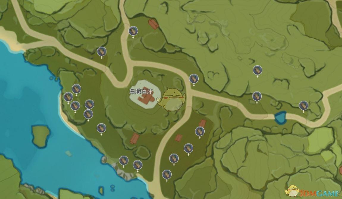 《原神》垂香木位置图一览