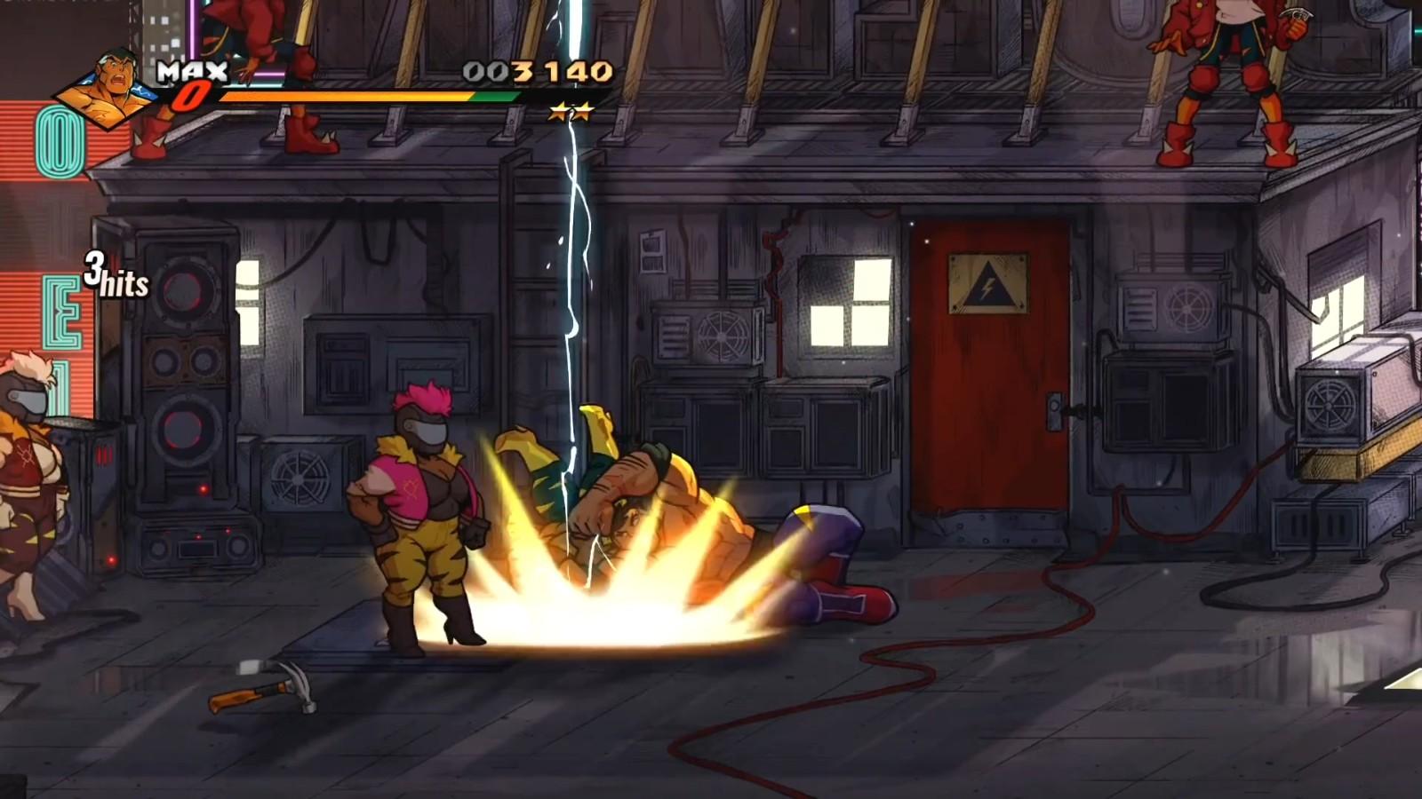 《怒之铁拳4》DLC第二弹预报 力气与摔交技选手