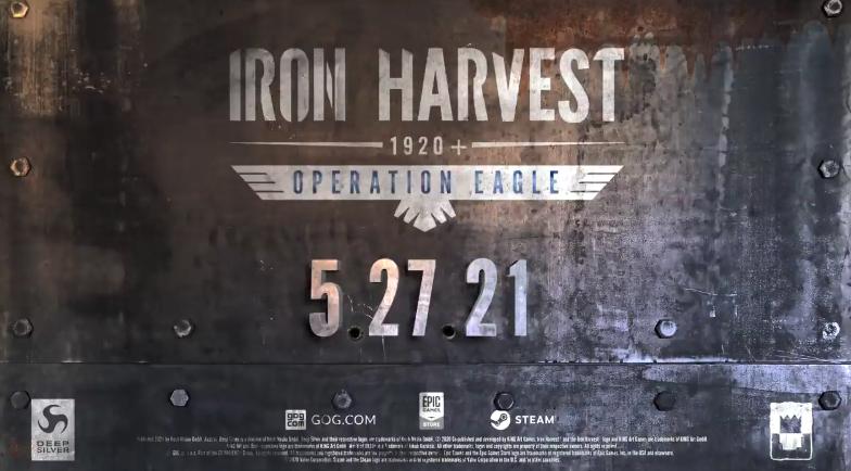 """《钢铁收割》新DLC""""老鹰行动""""预告公布 5月27日登陆PC"""