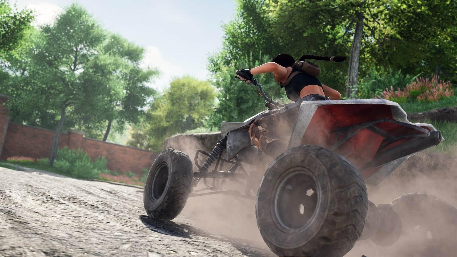 《古墓丽影2》玩家重制版新视频 劳拉狂飙沙滩车