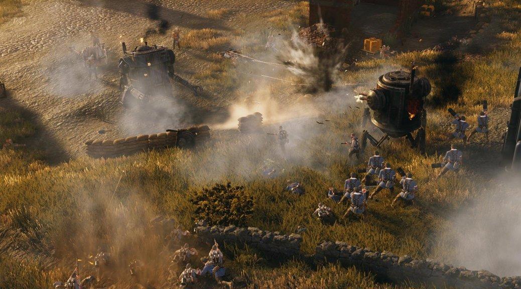 即时战略游戏《钢铁收割》Steam版周末免费游玩