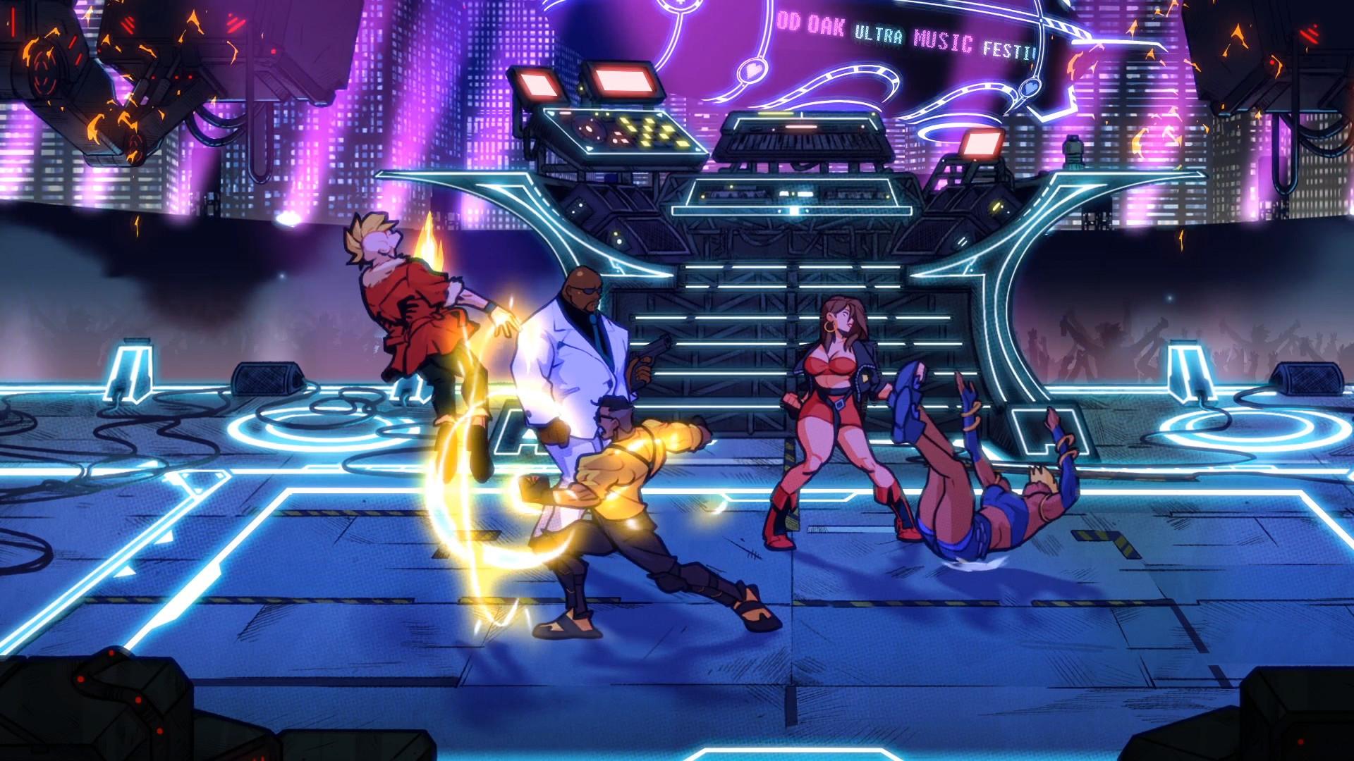 横版动作《怒之铁拳4》Steam新史低促销