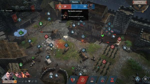 中世纪风RPG游戏《征服的荣耀 : 围城》5月18日登陆Steam