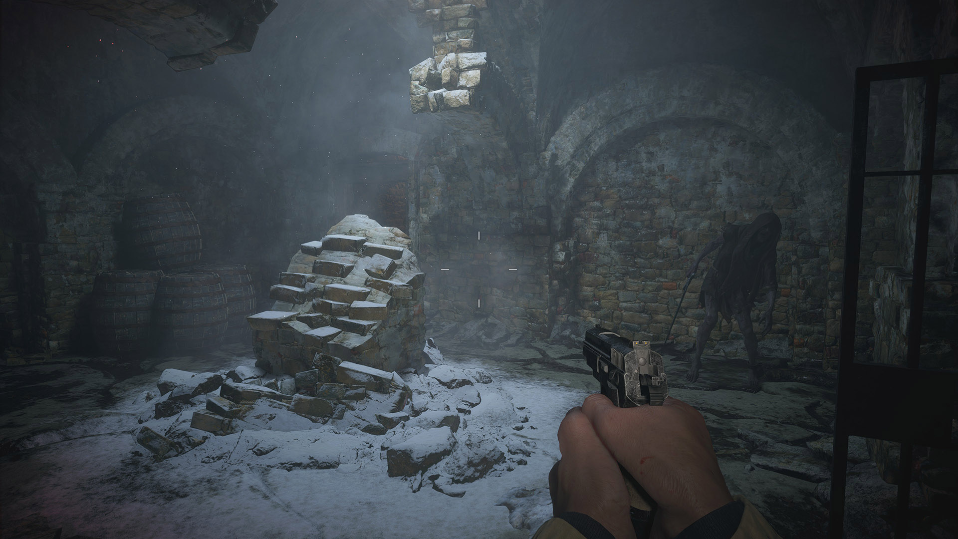 PC《生化危机8》试玩版高配光追4K画质截图公布 角色模型细致