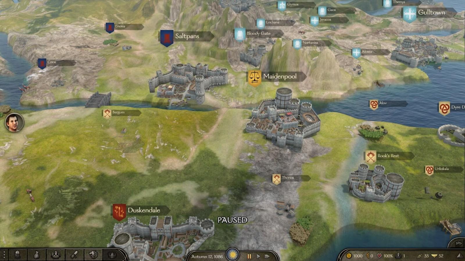 """《骑马与砍杀2》""""权力的游戏""""MOD第一版发布"""