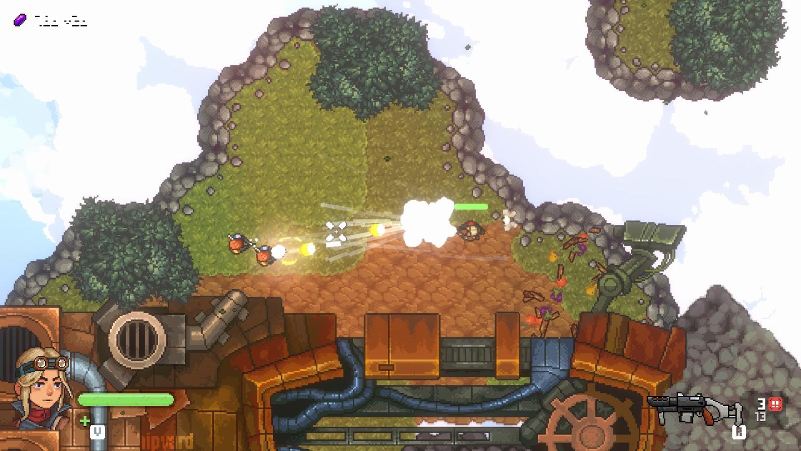 像素风开放世界新作《Black Skylands》上架Steam 支持中文和中文配音