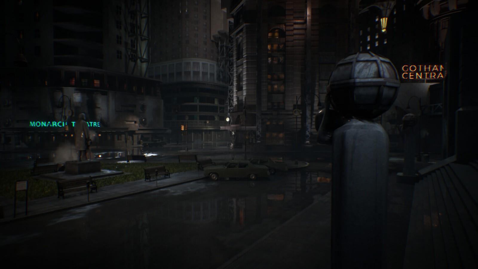 虚幻引擎自制《蝙蝠侠1989》游戏 场景忠于电影版