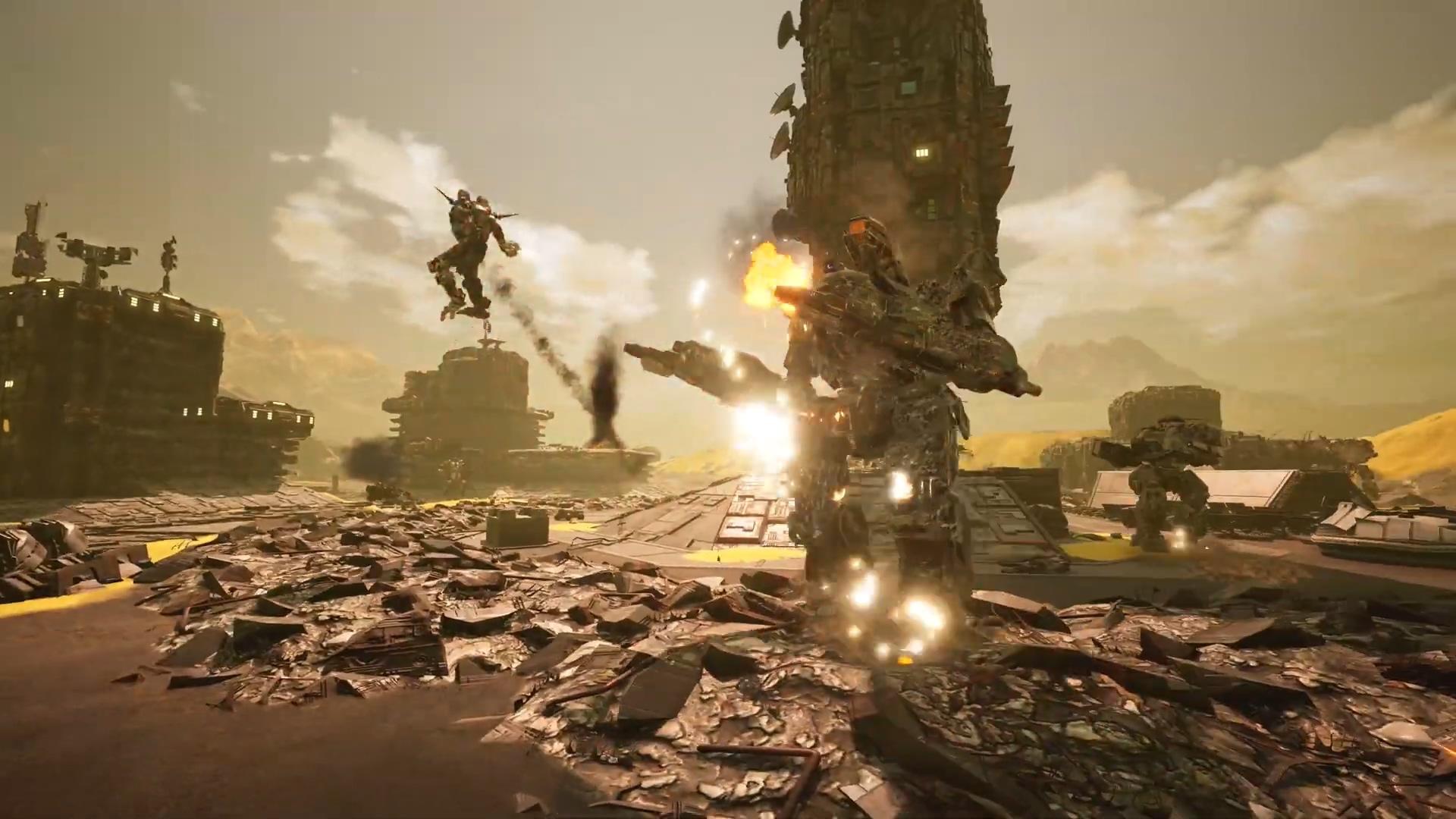 《机甲战士5:雇佣兵》添加跨平台联机功能 游戏宣布降价
