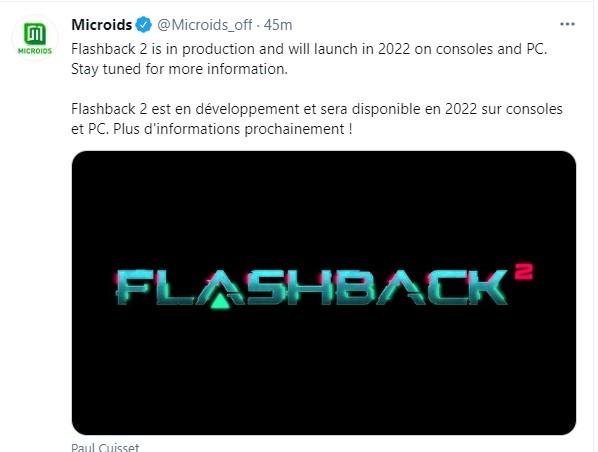 官宣:《闪回2》2022年发售 登陆PC和主机