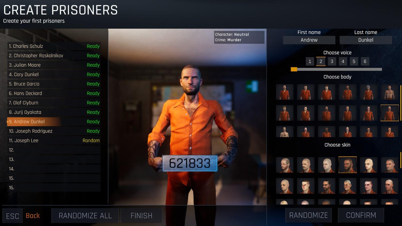 《监狱模拟器:序章》将于5月20日在Steam免费推出