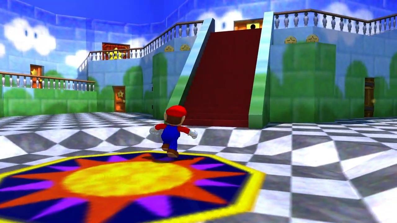 《超级马里奥64》PC移植版下载发布 支持光追效果