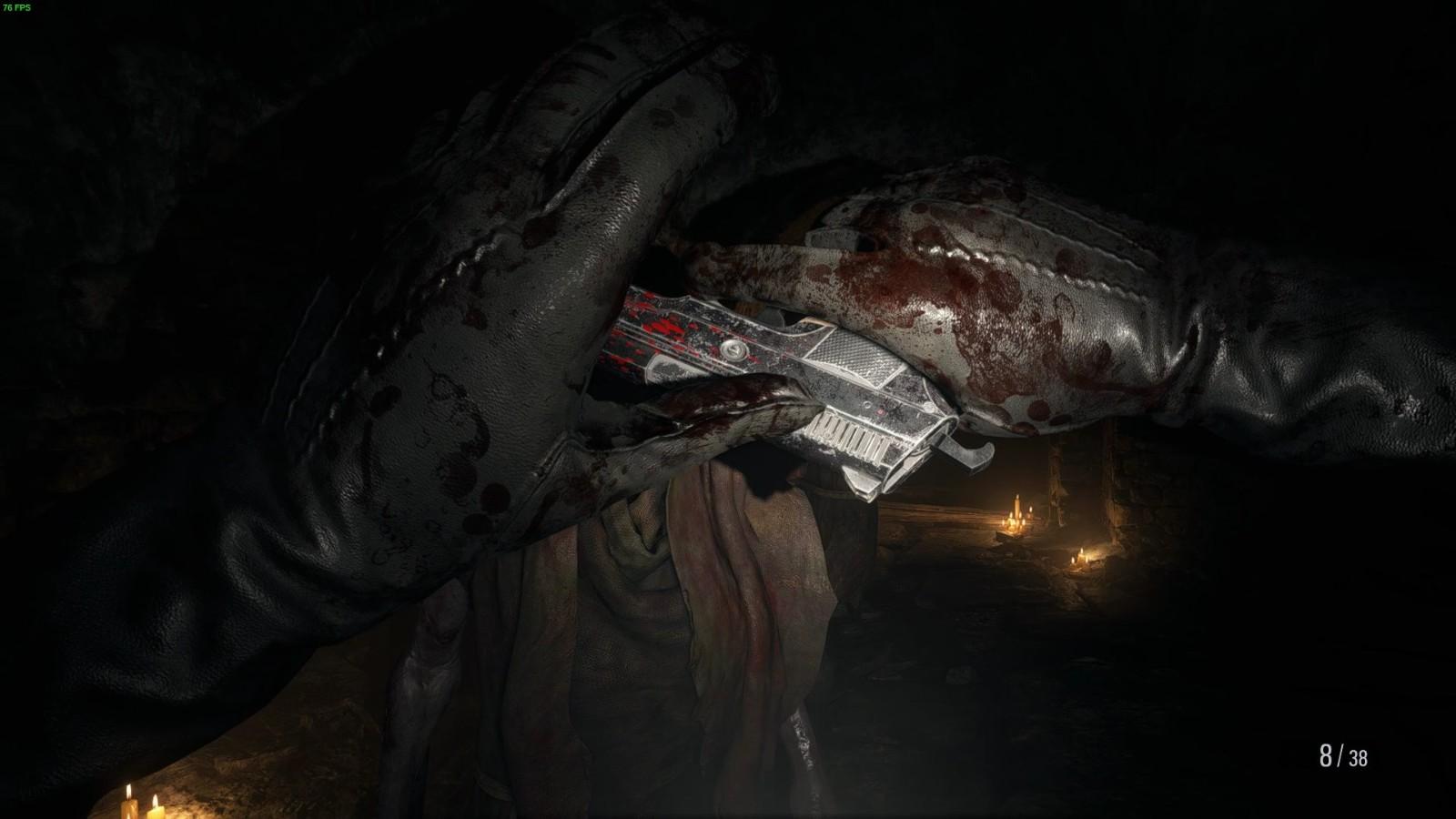 《生化危机8》首批Mod出现 伊森变吸血鬼美女打怪物