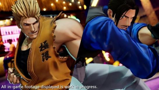 《拳皇15》最新角色宣传片公开 龙虎队双雄登场