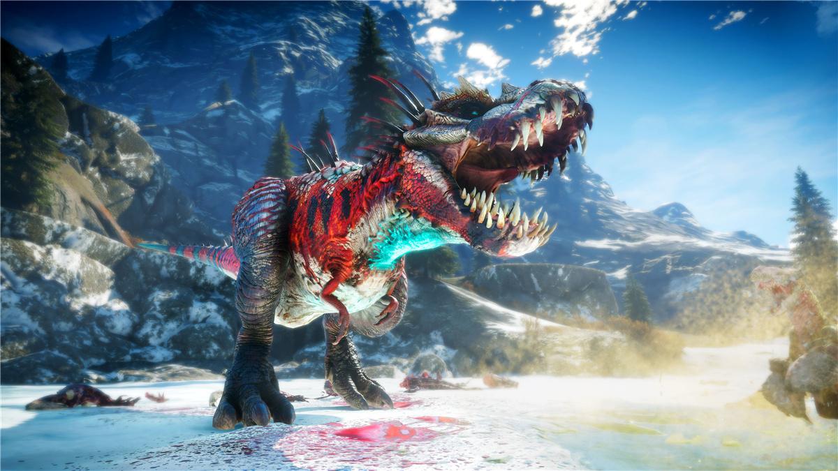 """""""打恐龙""""游戏《二次灭绝》公布后续更新计划:新恐龙、新角色以及跨平台联机等即将到来"""