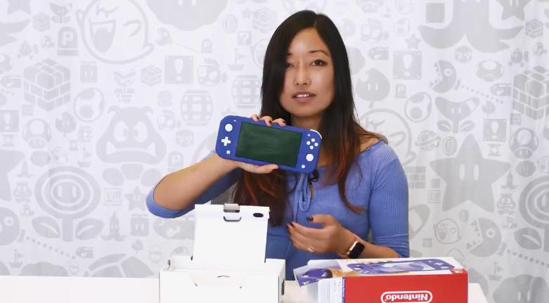 任天堂分享NS Lite 蓝色官方版开箱影像 5月21日上市