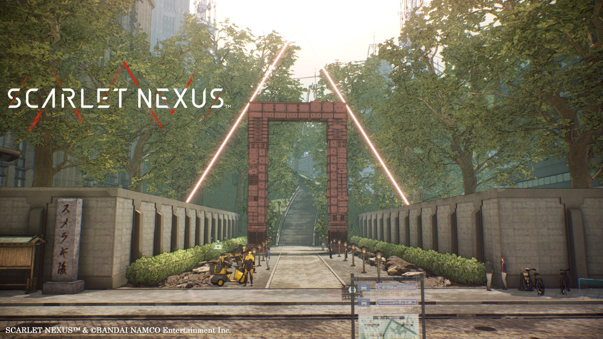 万代公布《绯红结系》场景新图:游客常去的陵墓之地