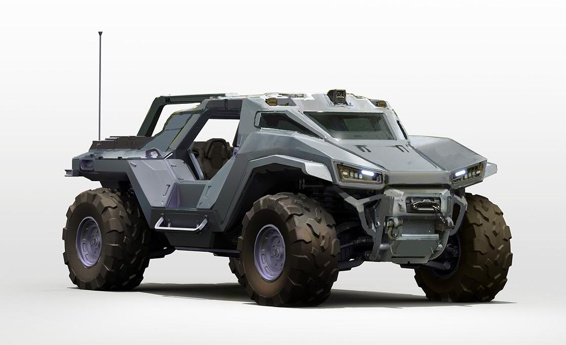 《光环:无限》开发商公开全新载具武器及敌人