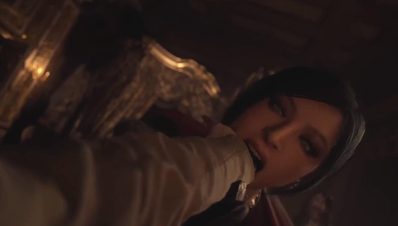 《生化危机8》新Mod 美女艾达王替换夫人蹂躏你