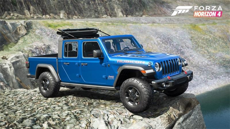 《极限竞速:地平线4》第35季更新Jeep Gladiator携手多款豪车等你赢取!