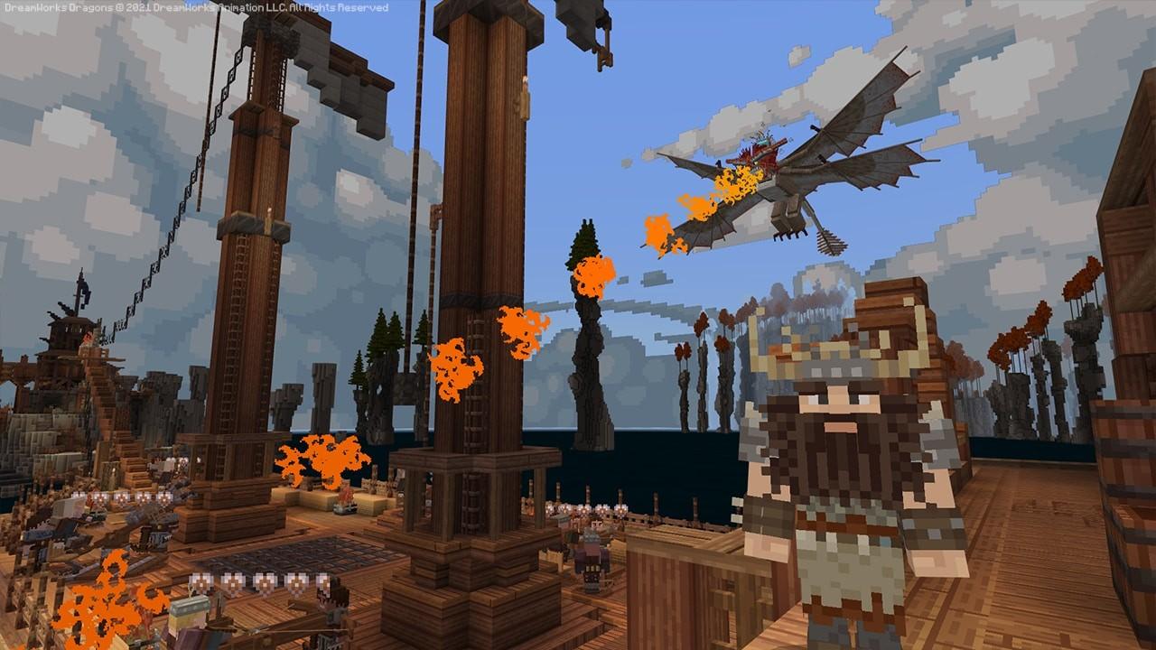《我的世界》驯龙高手DLC现已正式上市