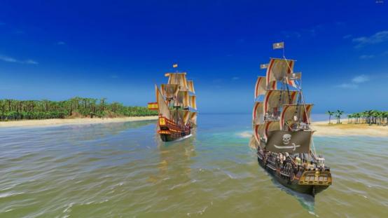 掠夺和侵吞,成为加勒比海之主:《海商王4-私掠海盗》DLC即将推出