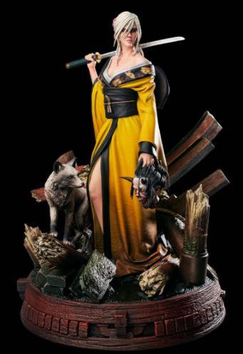 《巫师3》新改版的希里与狐妖手办即将上架 非限量款