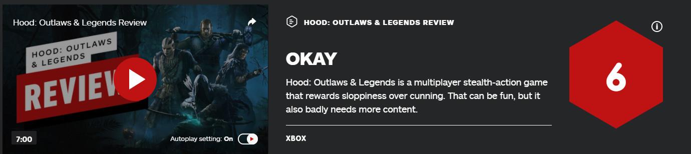 绿林侠盗:亡命之徒与传奇 IGN 6分 Steam褒贬不一