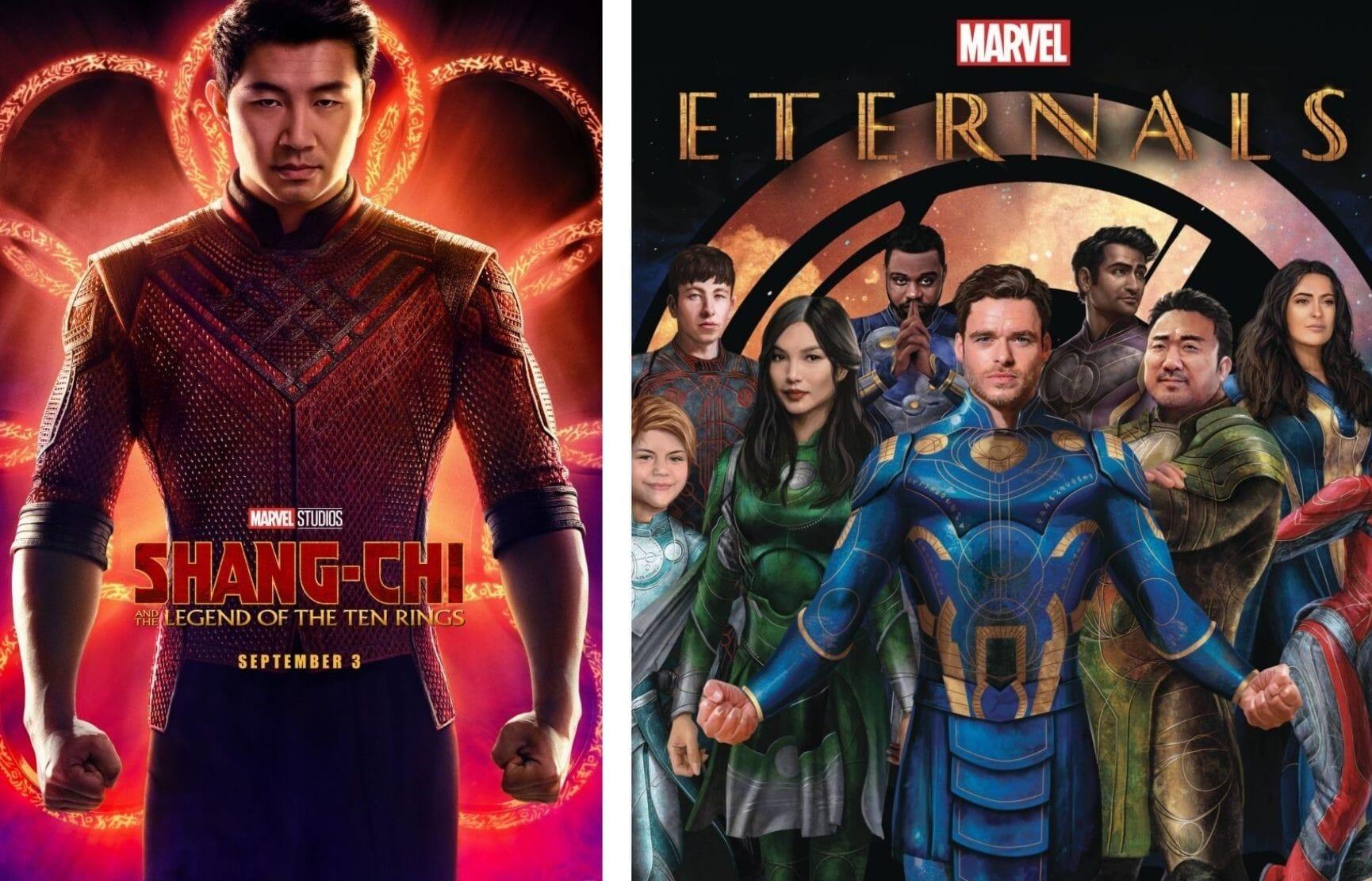 外媒:漫威新片《永恒族》《尚气》将不会在中国上映