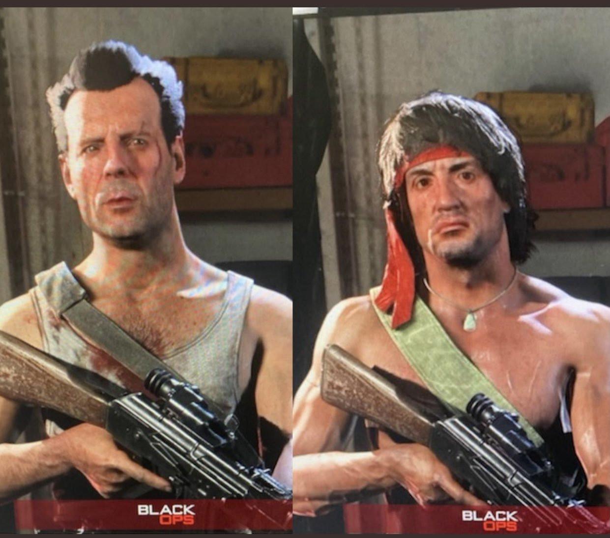 《使命召唤:战区》新角色泄露 史泰龙和布鲁斯威利斯经典形象加入