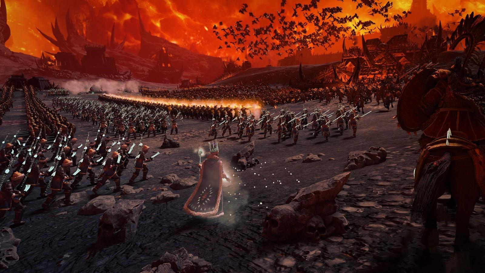 《全面战争:战锤3》实机演示 深入混沌魔域战恶魔