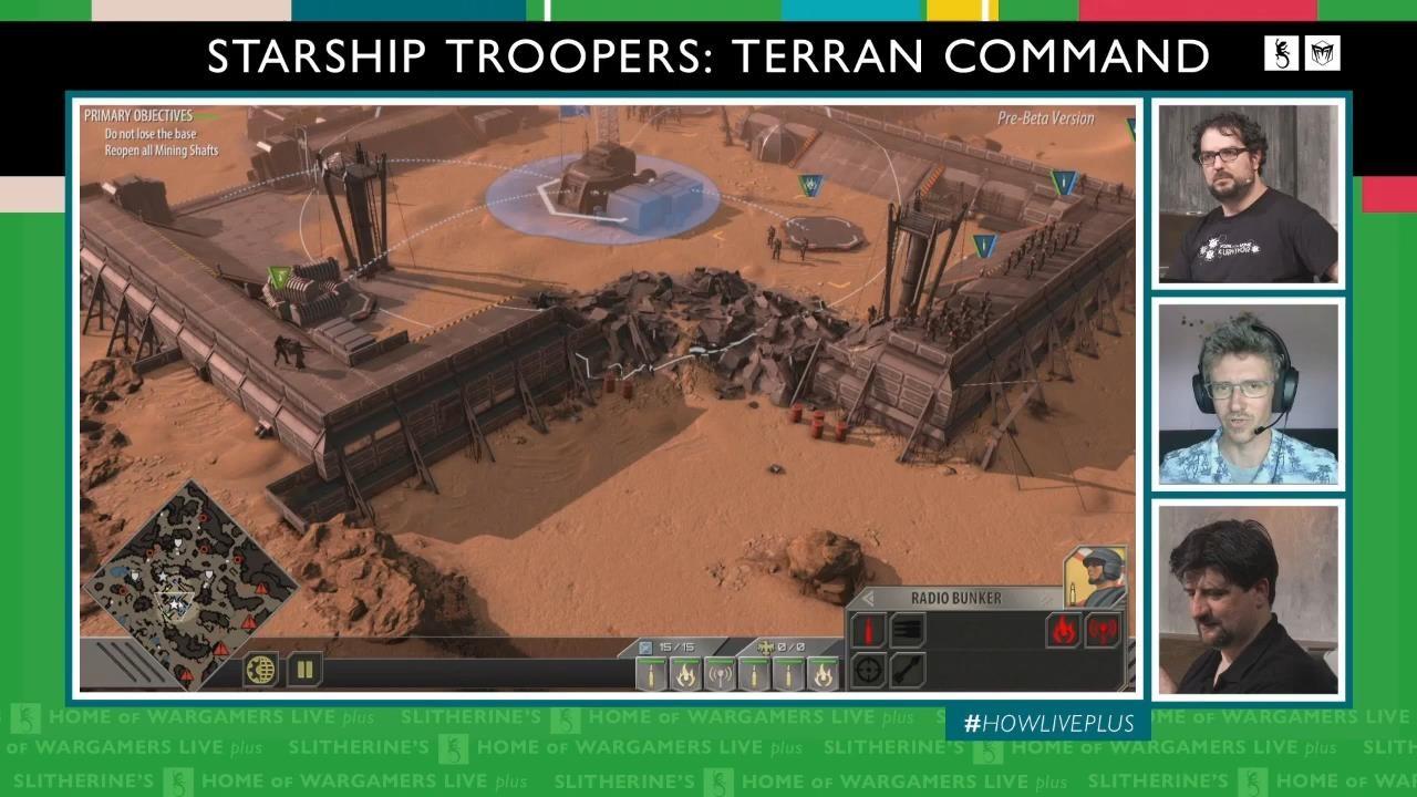 《星河战队:人类指挥部》超长演示 人类激战虫族