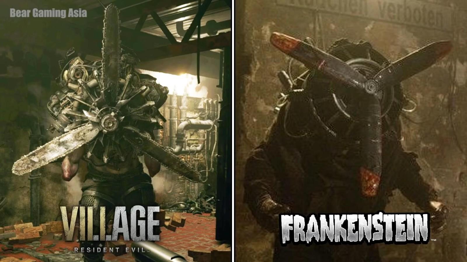 《生化8》与《弗兰肯斯坦兵团》电影对比 致敬或借鉴?