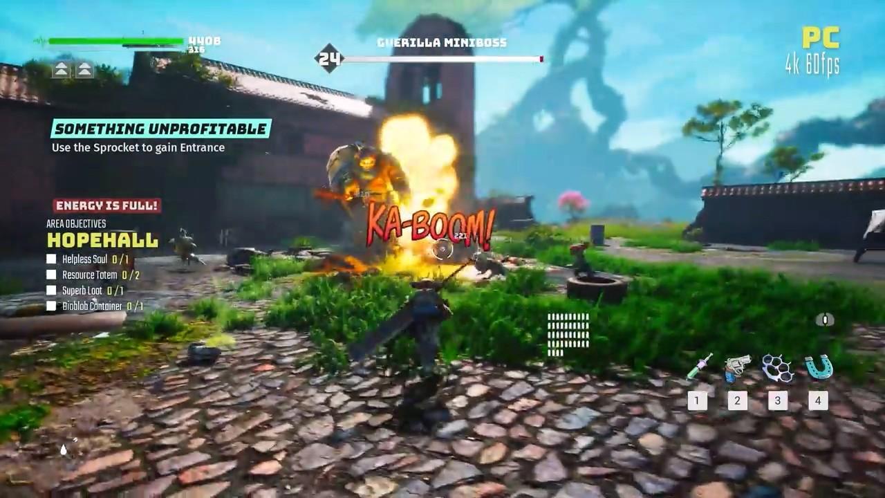 《生化变种》PC和主机版演示 战斗类似于鬼泣