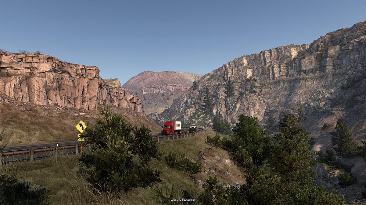 """《美国卡车模拟》新DLC""""怀俄明州""""上架Steam 公布早期截图"""
