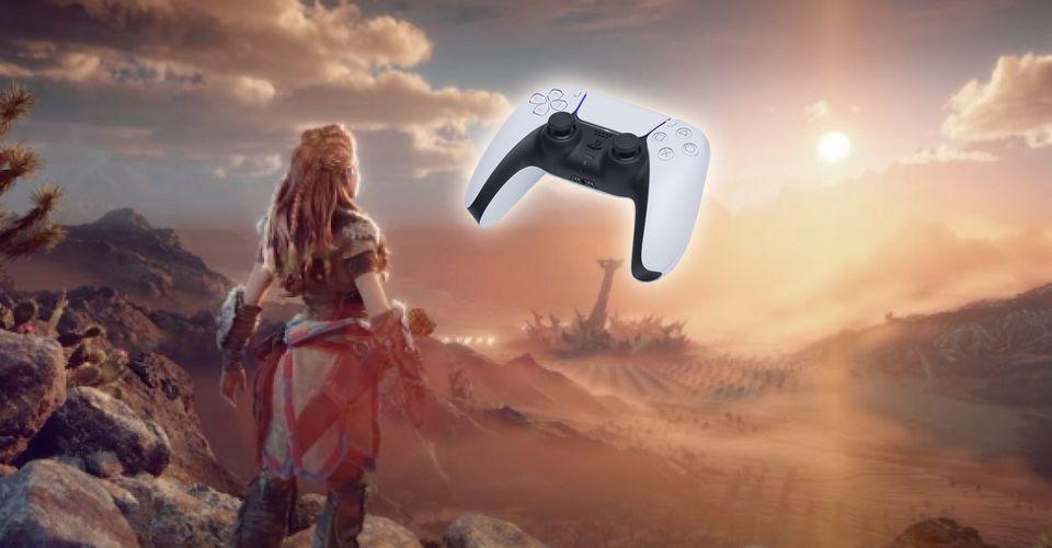 触觉反馈让玩家感受《地平线:西部禁域》的草地