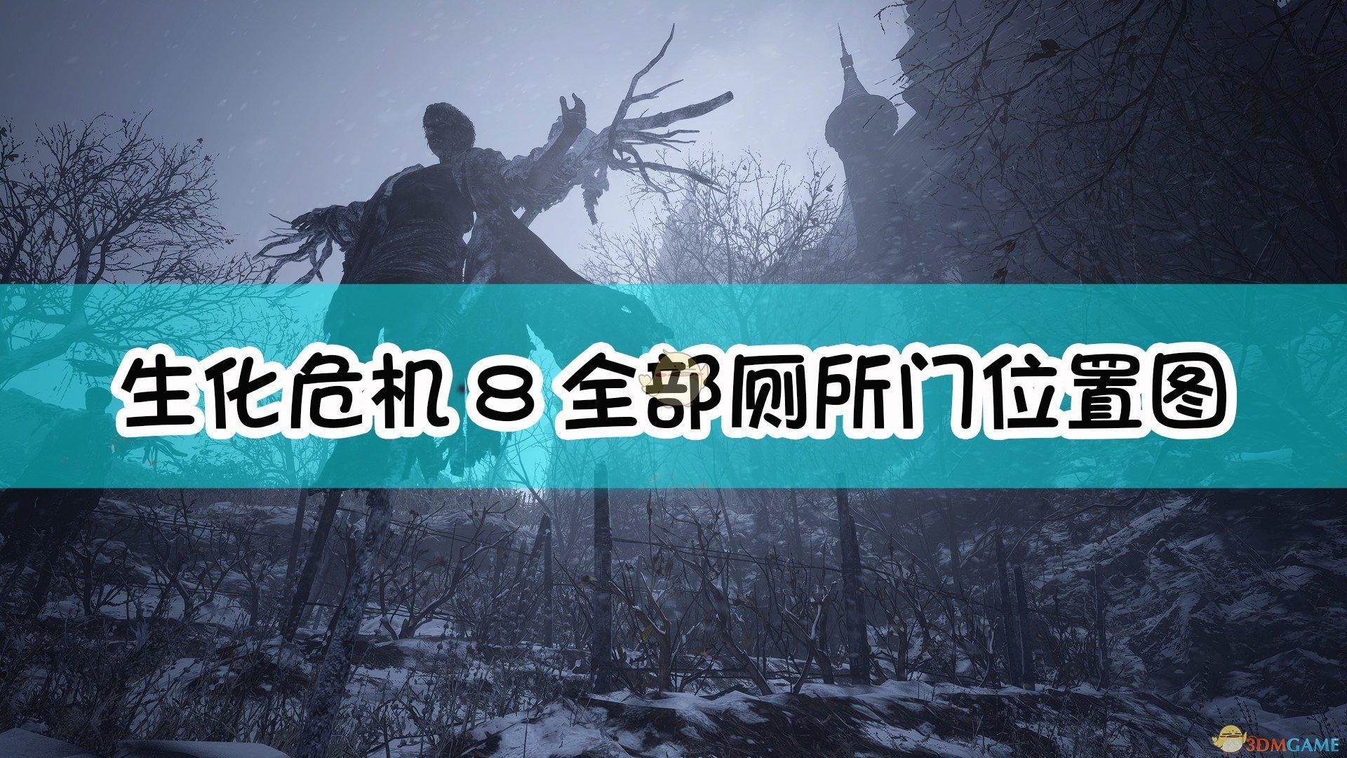 《生化危机8:村庄》全部厕所门位置图一览