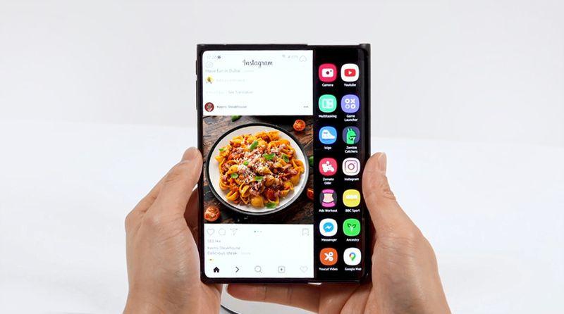 三星显示展示更多新折叠屏技术 双折叠屏和卷轴屏手机