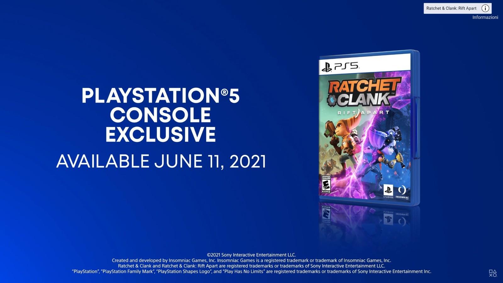 《瑞奇与叮当:分离》开发商否认游戏会登陆PC平台