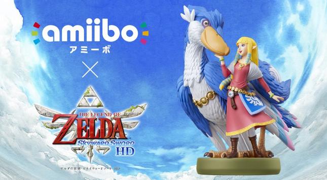 任天堂《塞尔达传说御天之剑HD》Amiibo将于7月16日与游戏同步发售